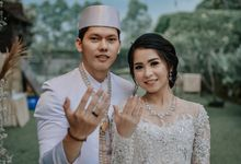 The Wedding of Ozie & Melati by MarisaFe Bridal