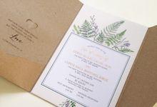 Erwin & Lupita Wedding Invitation by Gracia The Invitation