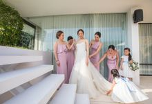 Eleanor and Clement wedding at Samujana villa Koh Samui by BLISS Events & Weddings Thailand