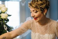 Eleonora wedding by Antonia Deffenu make-up artist