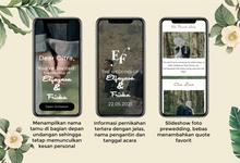Wedding Website - Elfayasa Friska oleh mantenan.id by mantenan.id