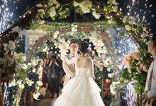 Wedding of Felisia & Gamma by Elina Wang Bridal