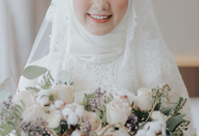 Muslimah brides by Elleonora Shindy