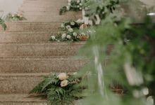 Full Foliage Wedding - Thariq & Tasneem by Elly Floral Artistry