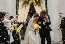 Wedding in yellow and black by Caterina Lostia Wedding&Event Producer