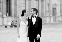 Elopement near the Eiffel tower by Katerina Meyvial Wedding & event planner
