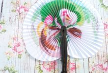 Souvenir Kipas Kertas Jepang by Bali Mae Gift