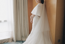 Two-in-one-Look Wedding of Fena & Billy by Elsie Chrysila Brides