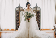 3 in 1 Look Raissa & Daniel Bali Wedding by Elsie Chrysila Brides