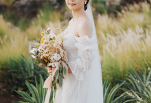 The Wedding of Chris & Nina by Elsie Chrysila Brides