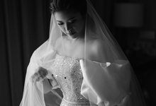 The Wedding of Michael & Agnes by Elsie Chrysila Brides