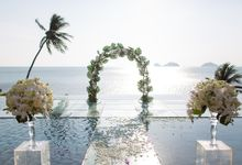 Lyn & Edgar wedding at Conrad Koh Samui by BLISS Events & Weddings Thailand