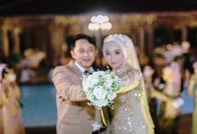 Outdoor Concept Wedding Of Umay & Maghfar by MC Faiz