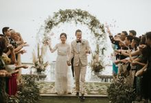 Chris & Calista Real Wedding at The Stone House by Tirtha by Tirtha Bali