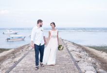 Elopement of Ewelina and Bartek from Poland by Amazing Bali Events