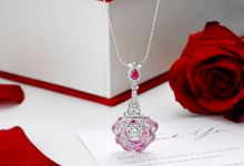 Rose D Amour Collection GIA and GemEx Certified by Adelle Jewellery