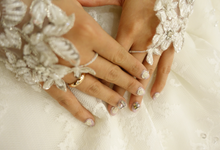 Wedding Nails by Enchante Nailart