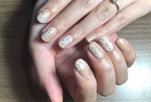 PreWedding Nails by Enchante Nailart