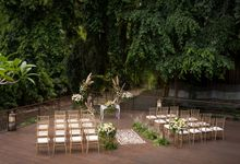 Wedding at Wos Riverside Deck by Sthala, A Tribute Portfolio Ubud Bali by Marriott International
