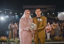 Rustic Pool Wedding Anita & Guntur by LAKSMI - Kebaya Muslimah & Islamic Bride