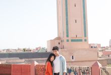 Couple session in Marrakesh by Maria Rão