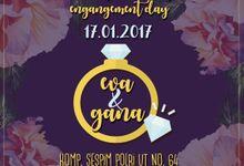E-invitation Eva dan Gana by ideberideproject