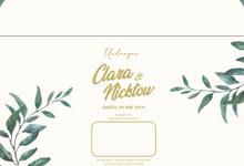 Wedding Clara Nicktow 1 by KLE Invitation