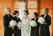 August 2016 Bridesmaids by PoppySoeratno Make Up Artist