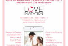 Bride Story Market 2017 Promo ! IDR 500.000,- by Love Invitation