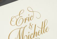Eric & Michelle by Meltiq Invitation