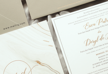 Erica & Deryl by Meltiq Invitation