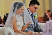 Marcell Anthony & Natalia Astina Wedding by Rama Dauhan Design Studio