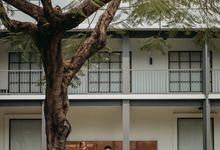 Erika & Steven Prewedding at Gedung Arsip Nasional by AKSA Creative