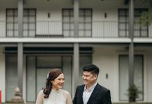 Erika & Steven Prewedding at Gedung Arsip Nasional by AKSA Creative