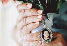 Photo Pendant for Mother of the Bride by Unique Finds by Unike Gjen