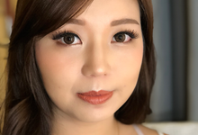 Party Makeup For Ci Irina by Erliana Lim Makeup Artist