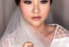 Wedding Look for Ms Meisie by Erliana Lim Makeup Artist