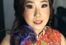Sangjit Makeup for Ms. Kathleen by Erliana Lim Makeup Artist