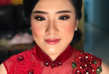 Sangjit Makeup for Ms. Nely by Erliana Lim Makeup Artist