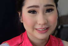 Sister of the Bride Morning and Night Look by Erliana Lim Makeup Artist