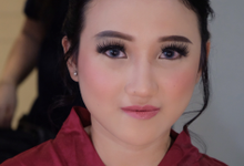 Bridesmaid Night Look (After Retouch) by Erliana Lim Makeup Artist