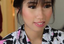 Bridesmaid Night Look by Erliana Lim Makeup Artist