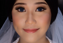 Wedding Makeup Trial for Ms. Fransisca by Erliana Lim Makeup Artist