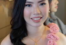 bridesmaid morning and night look by Erliana Lim Makeup Artist