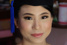 Graduation makeup for Ms. Claire by Erliana Lim Makeup Artist