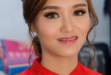 Sangjit makeup for Sherly by Erliana Lim Makeup Artist
