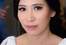 Wedding day makeup for Ms. Yani by Erliana Lim Makeup Artist