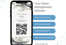 The New Normal Wedding Invitation by ERUGO Digital Guest Book