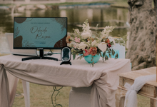 Delinda & Ryan Wedding Reception by ERUGO Digital Guest Book