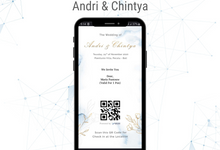 The Wedding of Andri & Chintya by ERUGO Digital Guest Book